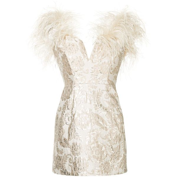 Alice Mccall Pop Goes To The Party dress ($424) ❤ liked on Polyvore featuring dresses, pink cocktail dress, metallic dresses, metallic cocktail dress, white metallic dress and white color dress