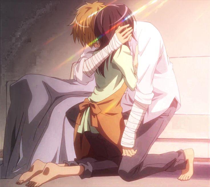 Melhor Anime de Romance que eu já assisti.. ❤️  Melhor Casal de todos  Amooooooo  Pelo amor de Deus precisa ter a segunda temporadaa!!!