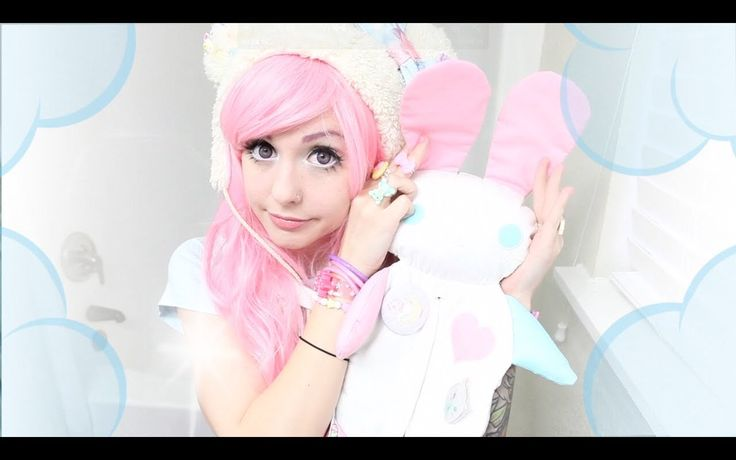 Alexa Poletti - 'How to look like a Kawaii Doll - Eye Enlarging Makeup Tutorial' - works great for sweet lolita!