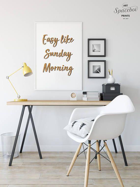 Repin for your Artboard    #EasyLikeSundayMorning, #Bedroom, #Lyrics, #Bathroom #Decor, #Typography #Quote #Positive #Print, #FunnyDecor, #Bathroom #Artwork, #WallArt by SpaceboiArtPrints on Etsy