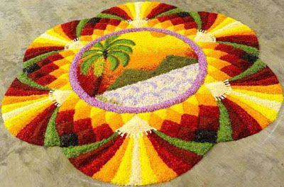 Onam in Kerala- India