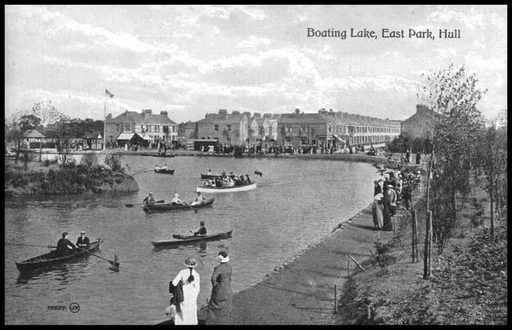 Boating lake.East Park