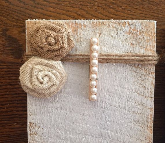 Rustic Clothespin Picture frame Pallet Wood by BMTCrafts on Etsy