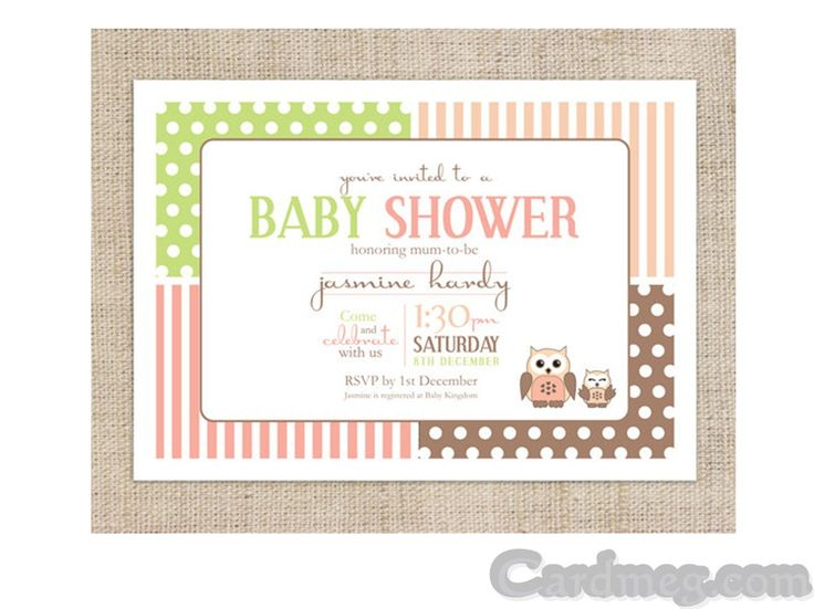 Baby Shower Invitations: Baby Shower Invitations Template Brown Frame Color, Cool Baby Shower Invitations Template Inspiration Design baby shower invitations wording Make Invitations Online Free Printable Free Printable Baby Shower Flyers