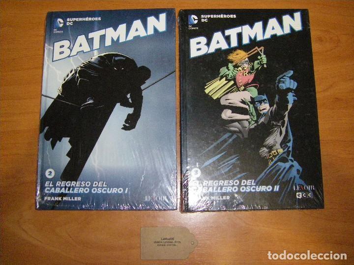 BATMAN EL REGRESO DEL CABALLERO OSCURO I Y II. DC CÓMICS (Tebeos y Comics - Comics otras Editoriales Actuales)