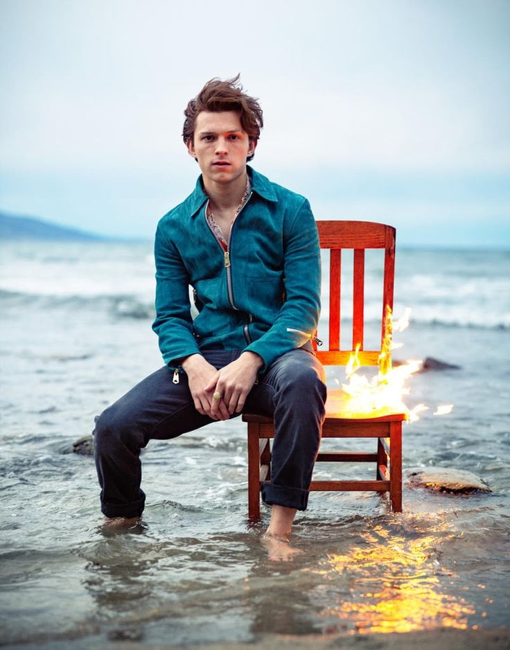 Tom Holland Units Chairs — and Hearts — on Fireplace in This Attractive Photograph Shoot