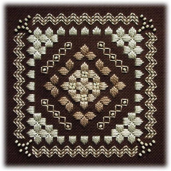 Hardanger embroidery Shades
