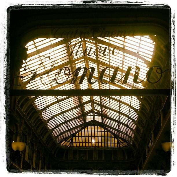 Torino- vecchia vetrata