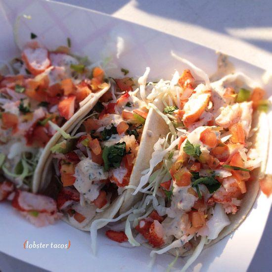 """Cousins main lobster"" lobster tacos, Food truck LA - Oh Joy!"