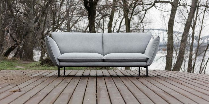 FREE DELIVERY - The Havannah sofa from Mastrella features a heavenly design with its high structured arms and inverted stitch seams.  Its angular feet add that extra bit of style to create an edgy look & feel.  The perfect statement piece of furniture to add to a contemporary living area or study.  Shown with 145A Black metal leg.  3 Seater, footstool & corner sofa options are also available.  To order in an alternative fabric or colour please feel free to call the showroom on 01736 ...