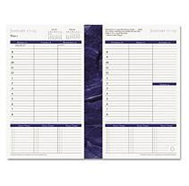 FranklinCovey® Monticello Dated Weekly/Monthly Planner Refill, 5 1/2 x 8 1/2, 2018