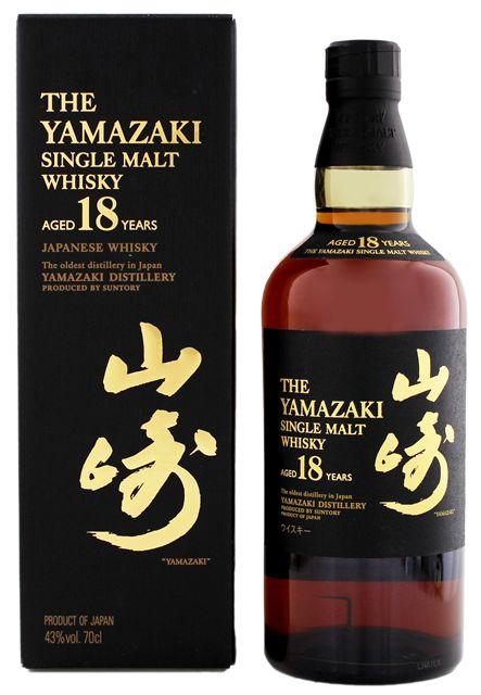 Yamazaki 18 YO single Malt Japanse Whisky online kopen prijs Nederland