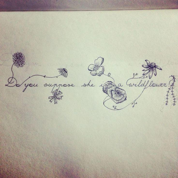 Alice in wonderland flowers tattoo ideas 88
