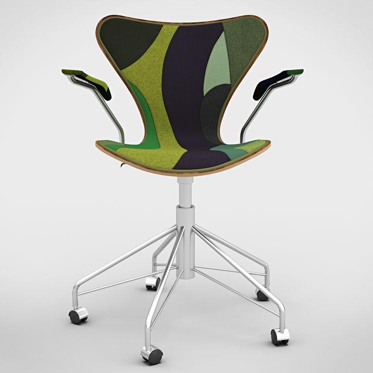 7 Cool Architects ǁ Designer: Carlos Ott Architects in association with Carlos Ponce de Léon Architects ǁ Fritz Hansen Series 7™ swivel armchair by Arne Jacobsen