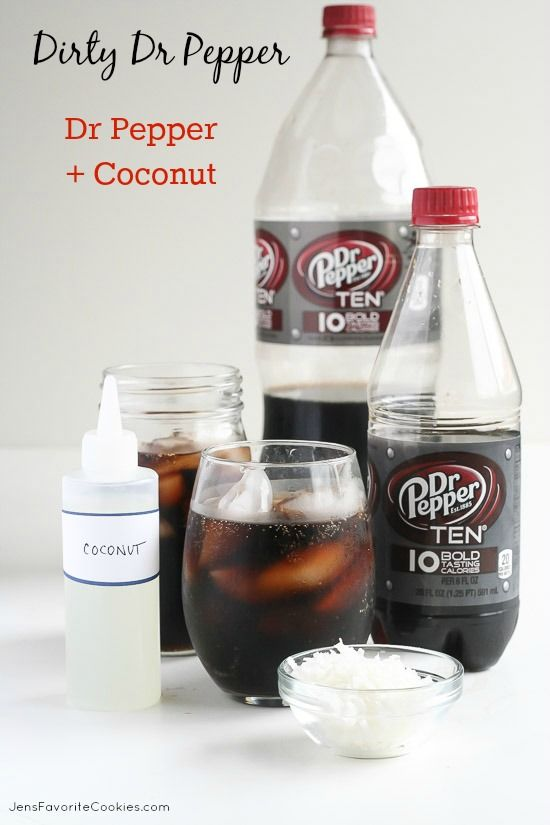 Dirty Dr Pepper from JensFavoriteCookies.com - Make them easily and quickly at home!