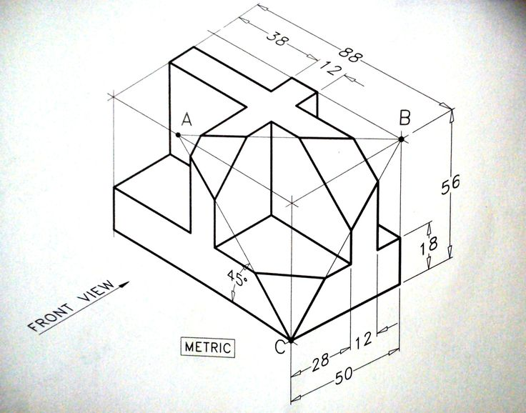 Isometric Drawing Exercise Isometric draw