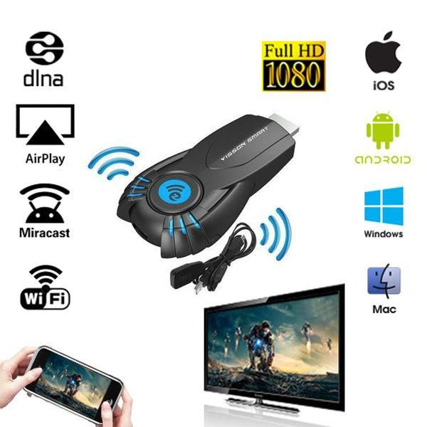 ==> [Free Shipping] Buy Best 2017 HDMI Smart Tv Stick Android Mini PC Miracast Mirror cast Dongle wifi Ipush better than google chromecast chrome cast Online with LOWEST Price   32809669126