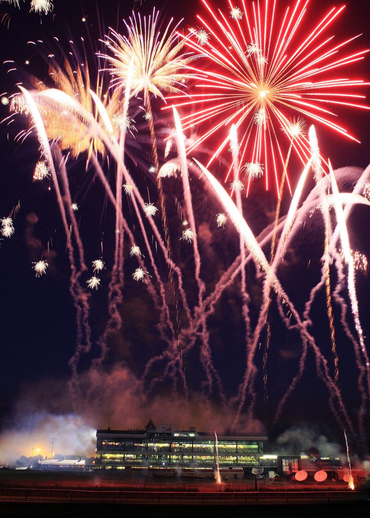 July 3rd fireworks at Canterbury Park!