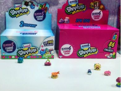 Shopkins Season 5 And 6 Promotional Boxes