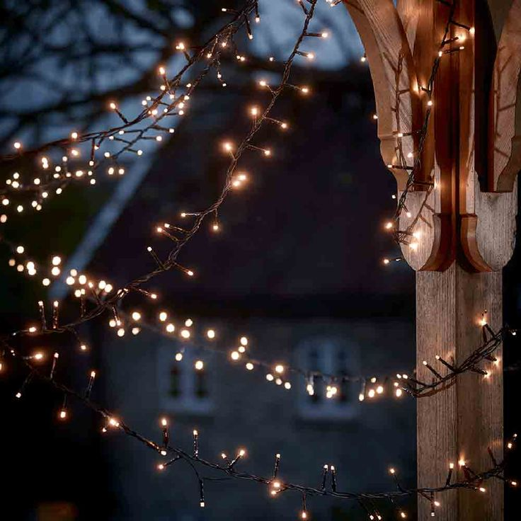 Best Outdoor Christmas Lights To Give Exteriors Festive Sparkle