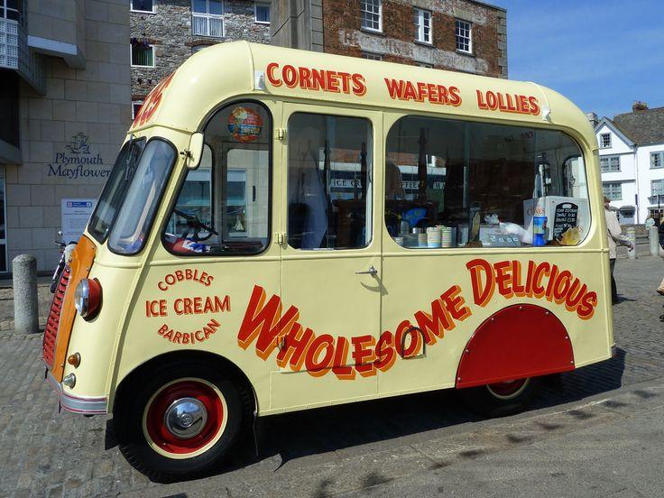 Cobbles Ice Cream 1954 Morris Ice Cream Van