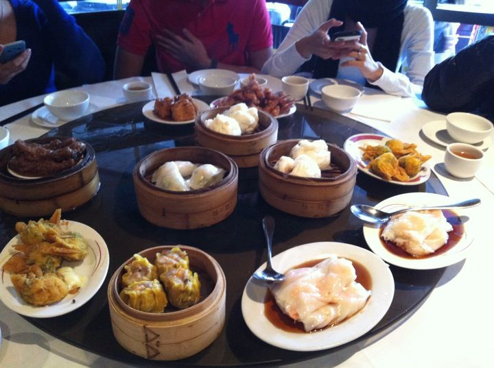 Ding Hao. Yum cha, pretty tasty. Service wasn't anything to write home about, but the food was good enough that we'd come back.