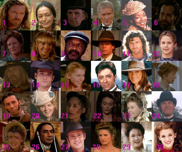 Dr quinn medicine woman cast you name the characters