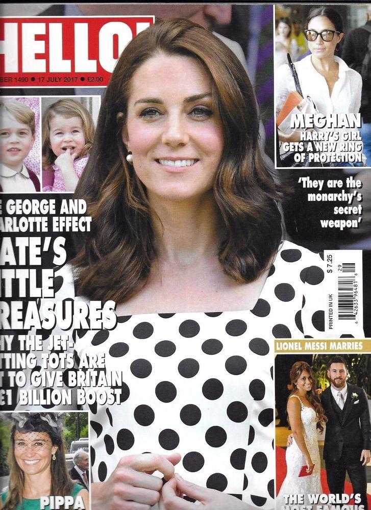 Hello magazine Kate Middleton Joss Stone Paris haute coutre week Meghan Markle