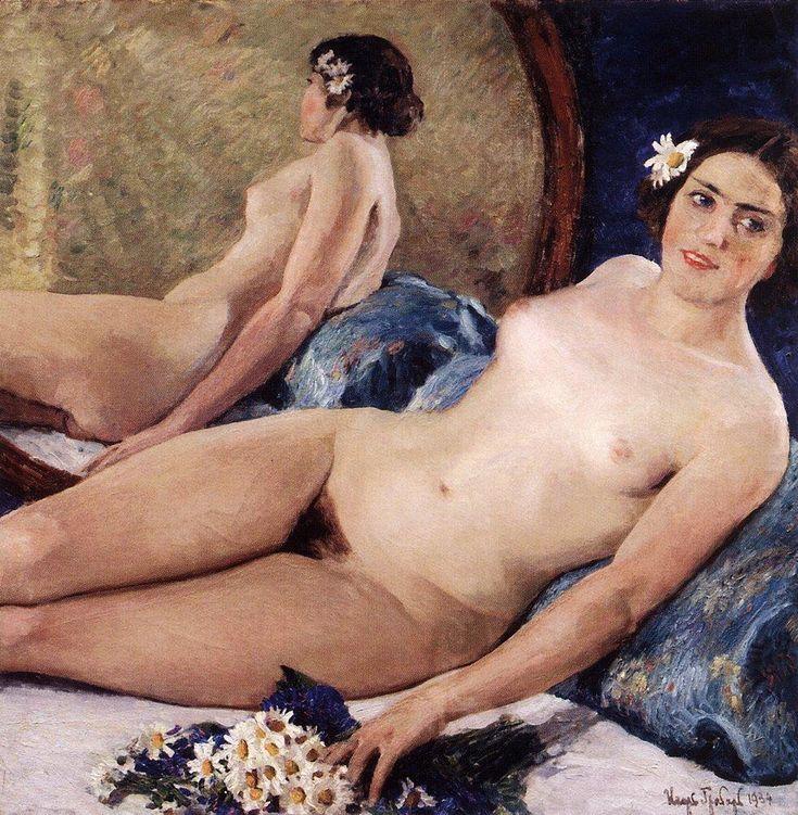 Игорь Эммануилович Грабарь (1871-1960) - Флора, 1934