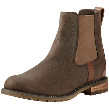 Ariat Wexford H2O Boots - Fully waterproof and breathable ladies chelsea boot. Made from full grain leather.