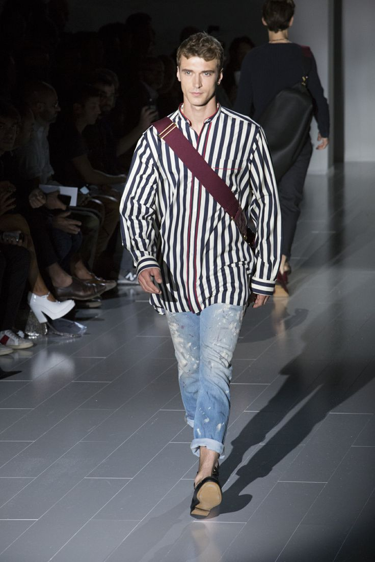 Gucci Men's Spring/Summer 2015 Runway Show