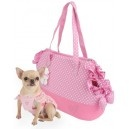 "Bolso para Mascotas ""New Loveholic"" Pink - KUKA´S WORLD - Ropa y Accesorios exclusivos para Perros. Moda Canina de Diseño y Artículos para Mascotas con estilo. Designer Dog Clothes and Luxury Accessories for Pets! http://www.kukasworld.com/"
