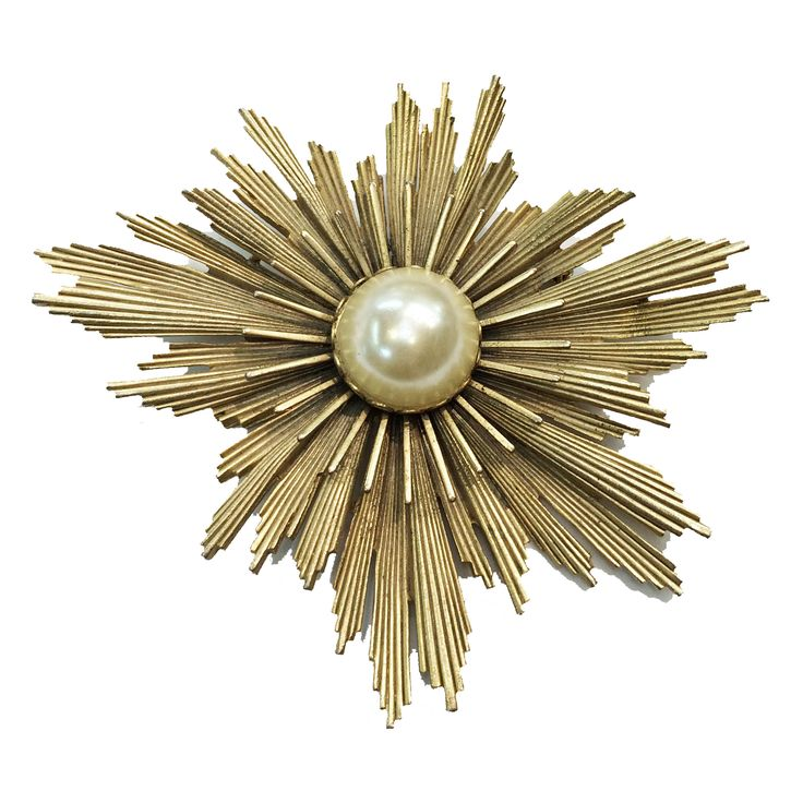 Cosmic Starburst Brooch From Sheri's Vintage Collections 40 West 25th Street, Gallery 30, NYC E-mail Sew125@aol.com