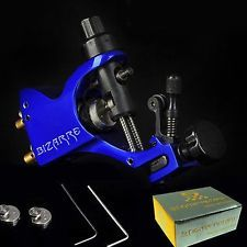 New sapphire blue Rotary Tattoo Machine Gun Motor Liner & Shader Dragonfly Style