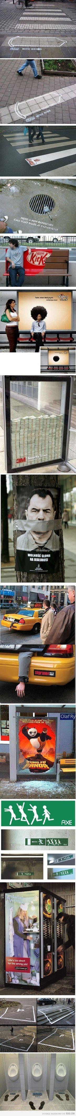 Just some guerrilla marketing. ;)