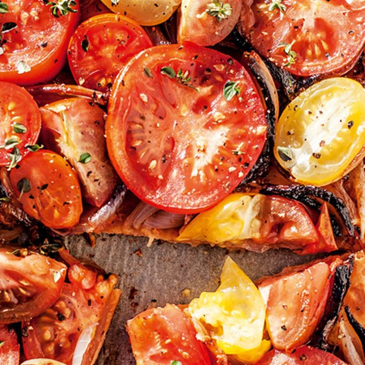 Try this Tomato Galette recipe by Chef Paul West . This recipe is from the show River Cottage Australia.