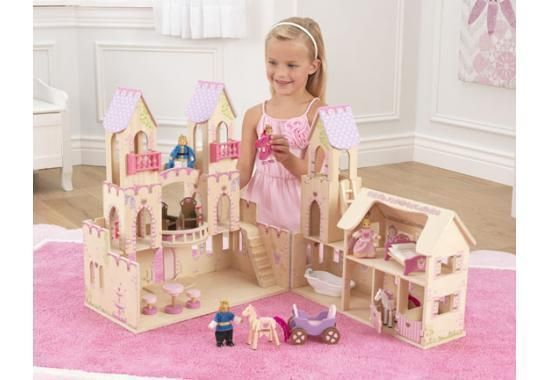 Kidkraft Puppenhaus Dollhouse Prinzessinnen-Schloss holz 65259 Princess Castle