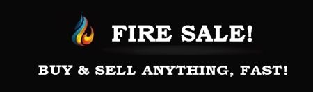Fire Sale is forever devoted to providing hot deals to online shopping customers at irresistible prices. Fire Sale is not like any other shopping site; this is a marketplace community of deal savvy shoppers, deal seekers, and dedicated sellers that create an experience unlike any other buying and selling experience. Fire-Sale always keeps users in the know about the hot deals they want and the information they need.