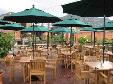 Rio Grande Mexican Restaurant Fajitas -Boulder Rooftop