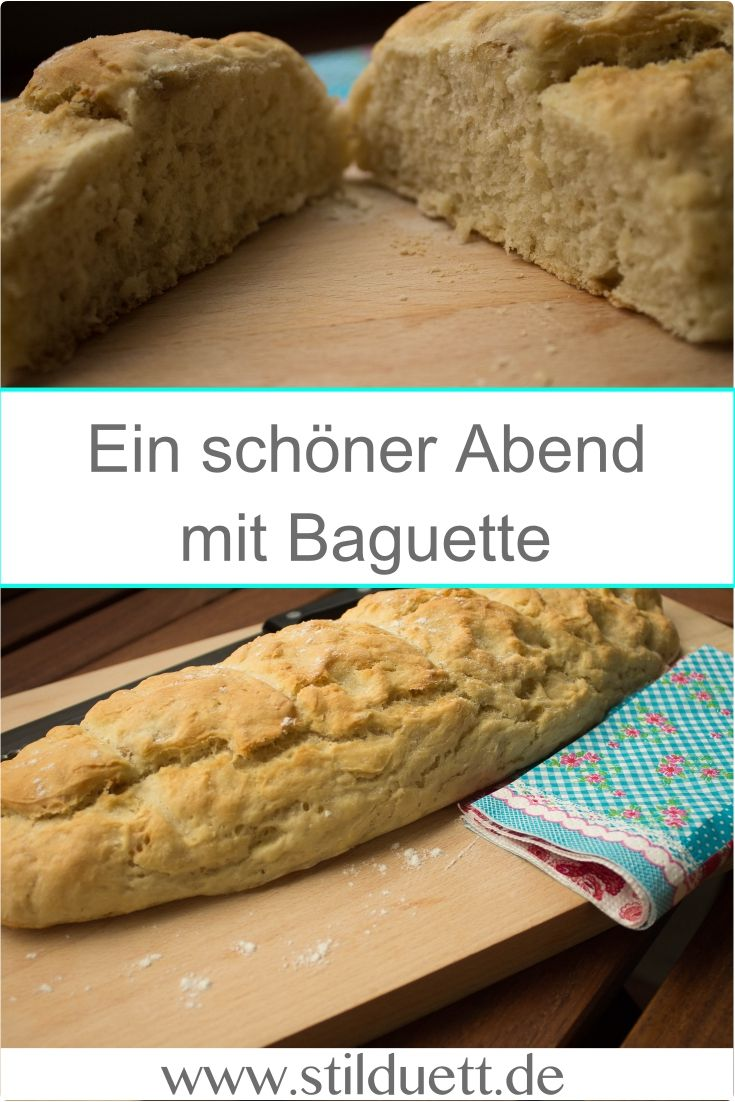 Schnelles und einfaches Baguette Rezept
