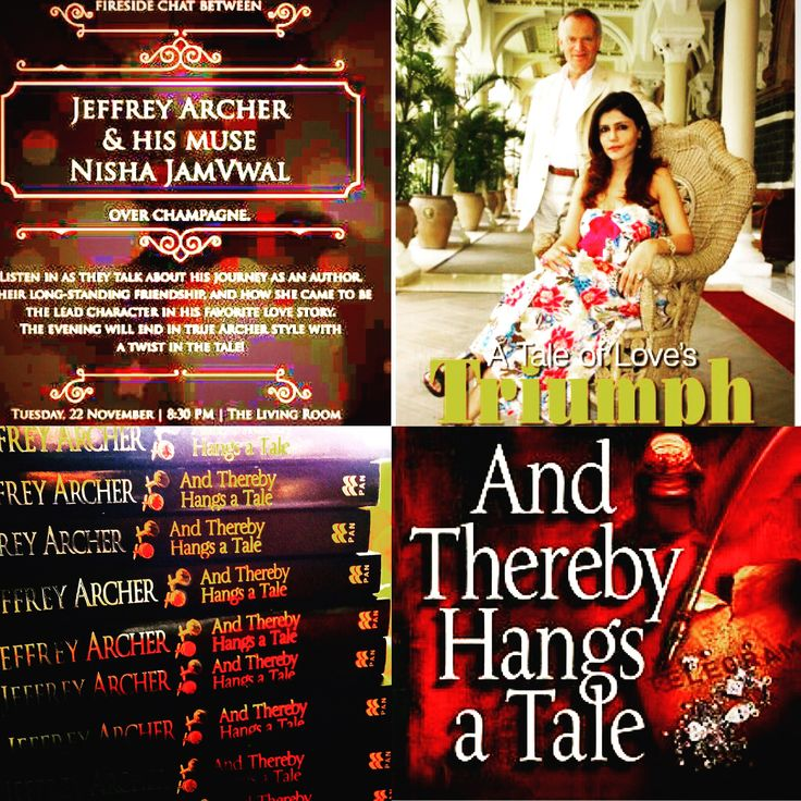 & the #countdown #begins to a #fireside chat with Lord @jeffrey.archer & @nishajamvwal