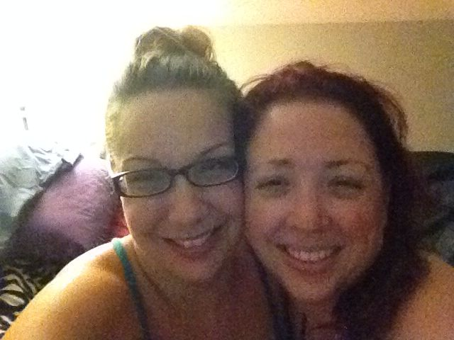 Look at these nut jobs!! Just kidding girls..miss your faces!! ❤️❤️ Mel & Lulu sending pics :) Oct 8th, 2014