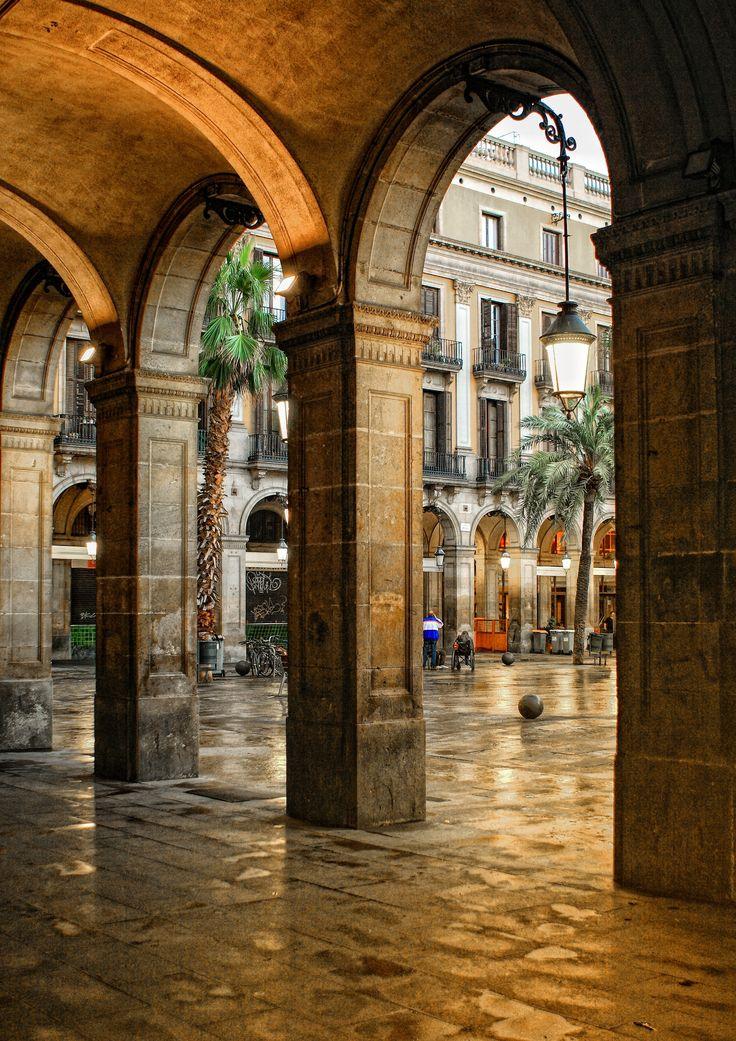 Plaça Reial (Barcelona, Catalonia) by Andrzej Koliba on 500px
