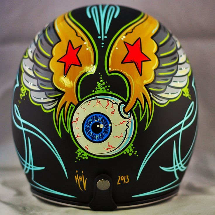 Hey Von Dutch fans!  You're gonna love this one.  Check out more pictures here at www.crownhelmets.co