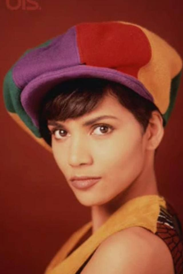 Halle Berry young