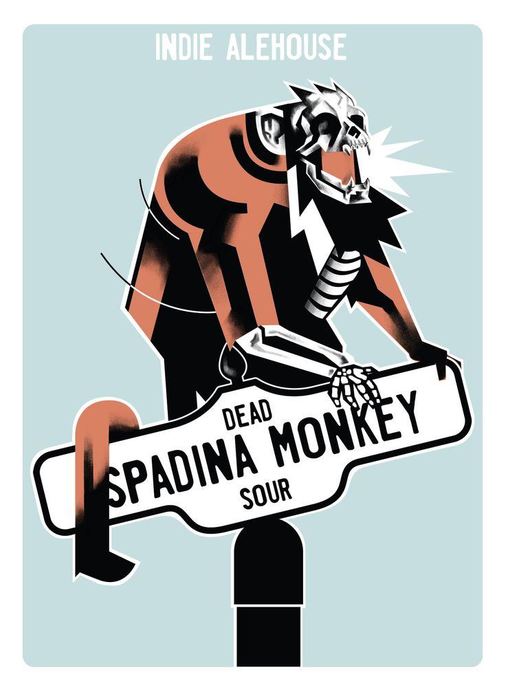 Beer - Spadina Monkey - Belgian Sour