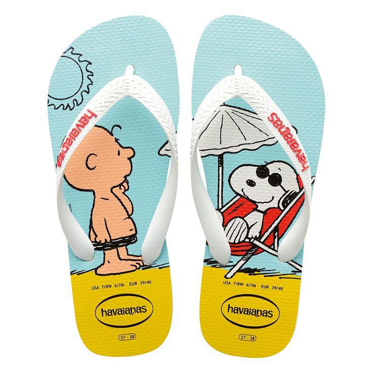 Sandálias Havaianas Snoopy Azul - havaianas