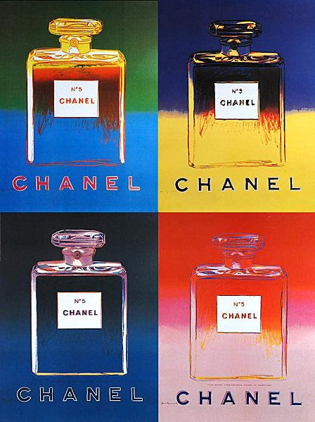 "Andy Warhol ""Ads : Chanel"", 1985"