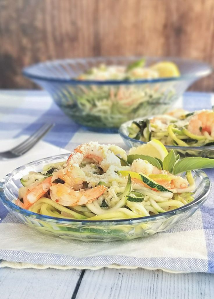 Jun 23, 2020 – This zucchini shrimp scampi is the perfect dish! It's light and bursting with flavors of lemon, garlic an…