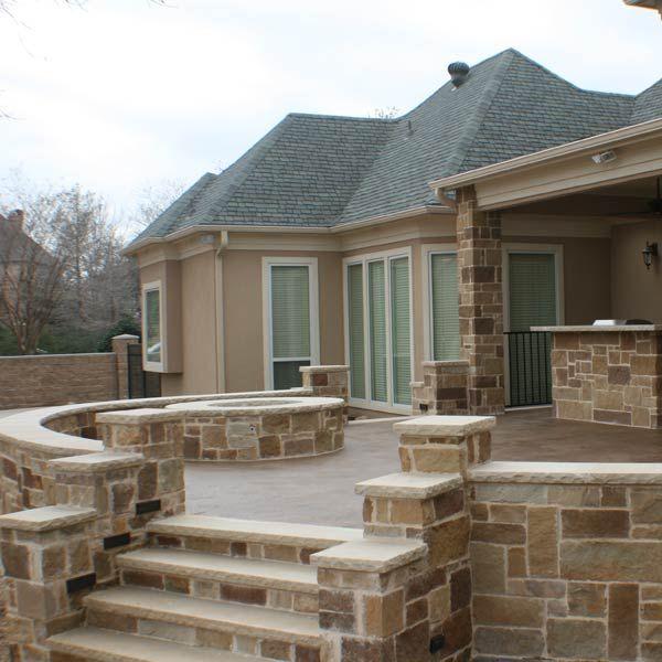 104 best patio ideas with decks, porches, pergolas and gardens ... - Raised Concrete Patio Ideas